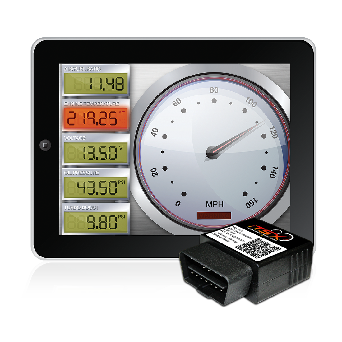 On-Screen Virtual Gauges